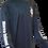 Thumbnail: Men's Gray Performance Moisture Wicking Long-Sleeve T-Shirt