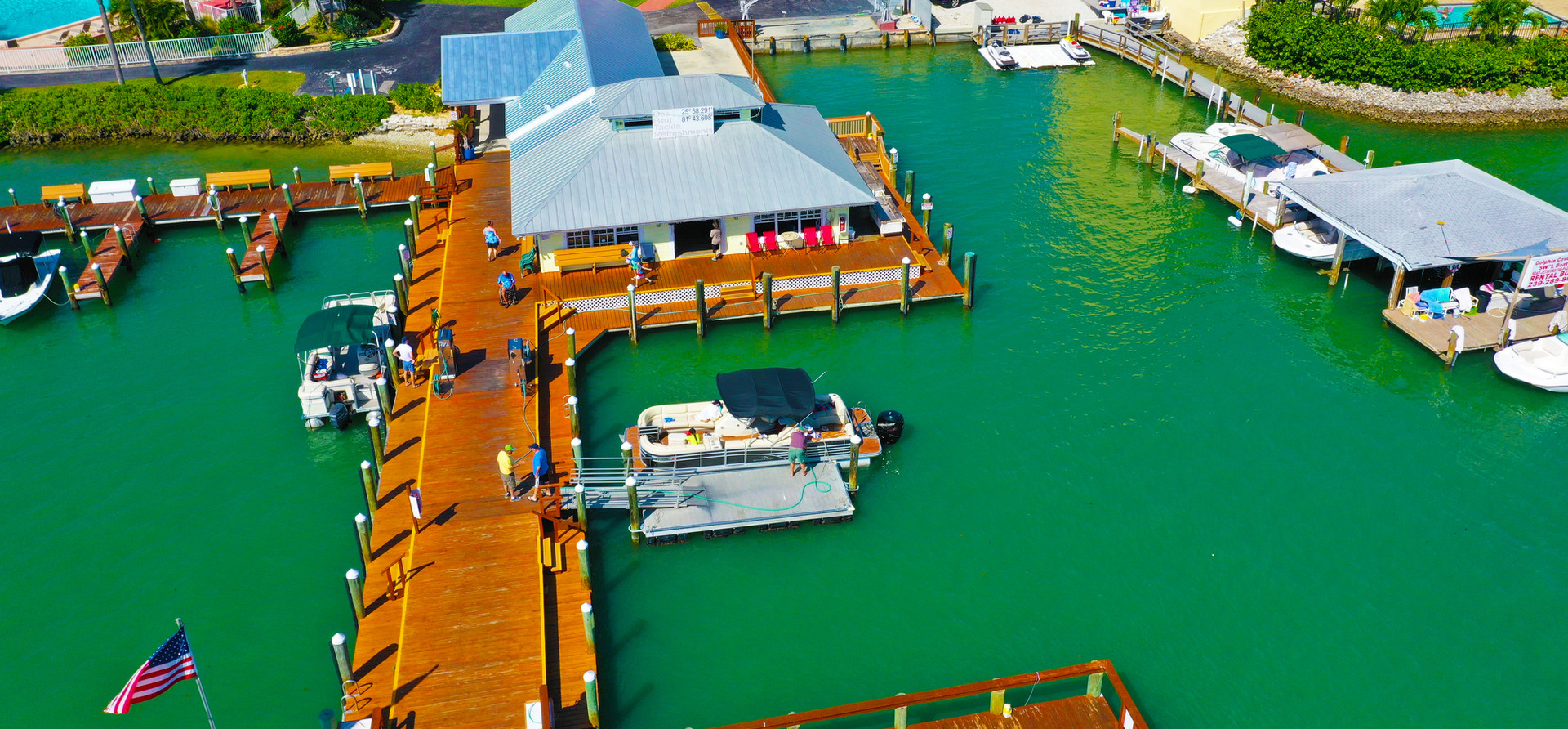 Pelican Pier from Above