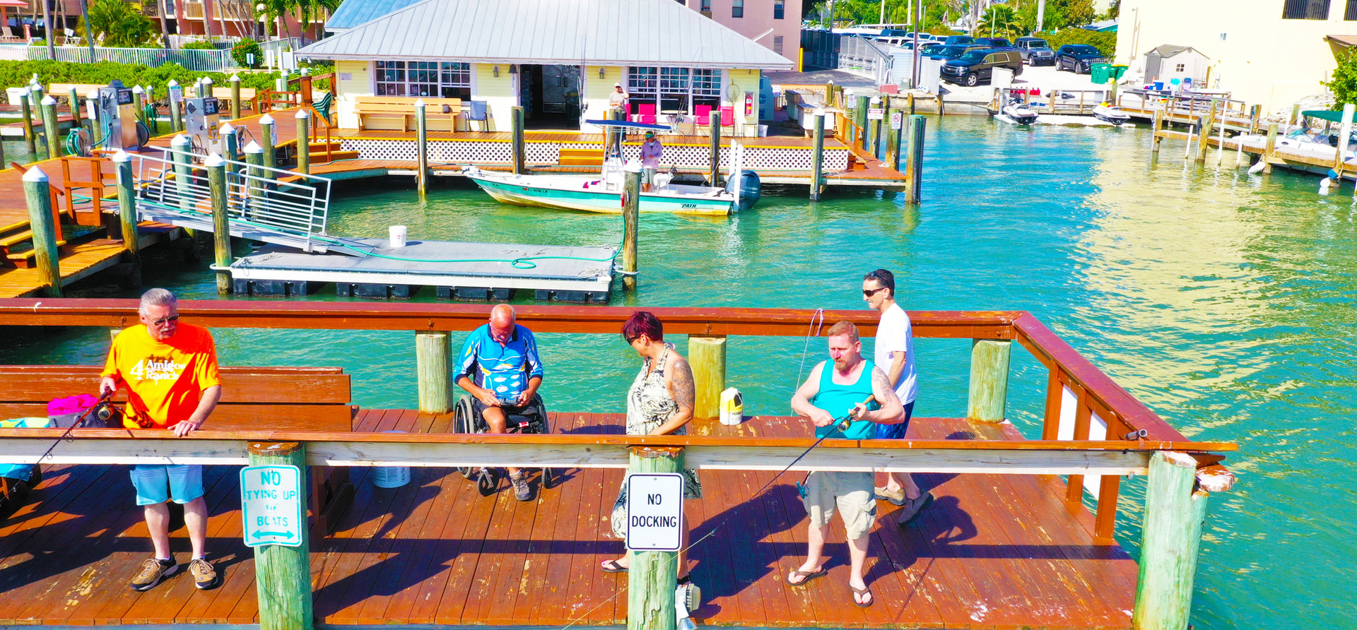 Fishing at Pelican Pier