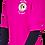 Thumbnail: Men's Fuchsia Performance Moisture Wicking T-Shirt