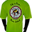 Thumbnail: Men's Highlighter Yellow Performance Moisture Wicking T-Shirt