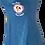 Thumbnail: Women's Cotton Blue Ash Sun Dress