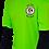 Thumbnail: Men's Lime Green Performance Moisture Wicking T-Shirt