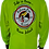 Thumbnail: Men's Highlighter Yellow Performance Moisture Wicking Long-Sleeve T-Shirt