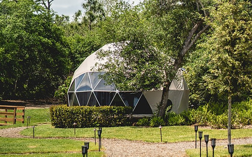 RIVER DOME - Shared by 2-4 participants US$2290.00 per Person.