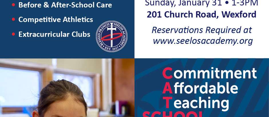 Blessed Seelos Academy Open House