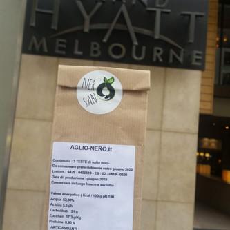 """NeroSano presente in Australia a Melbourne """"Grand HYATT"""""""