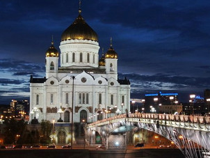 Moscow cathedrals filming