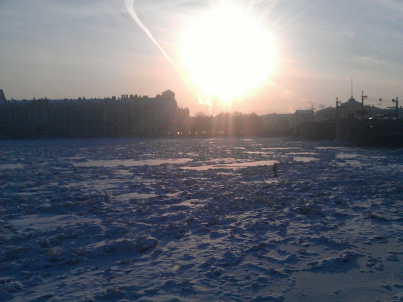 saint petersburg at winter