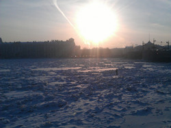 saint petersburg at winter