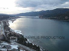 Yenisei river amazing view
