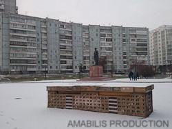 filming in Krasnoyarsk