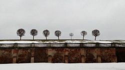 peterhof in winter