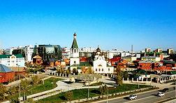 Yakutsk landmarks filming