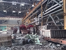 Abandoned factory in Krasnoyarsk available for filming