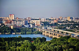Novosibirsk filming viewpoint