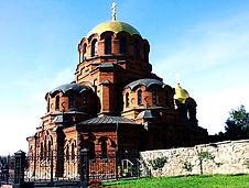 Alexander Nevskiy Cathedral in Novosibirks
