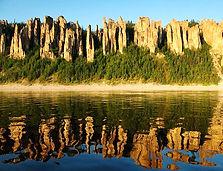 Lenskie Stolbi national reserve in Sakha Republic