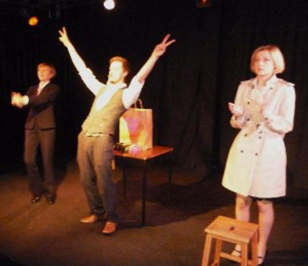 Rachel Dobell, Lee White & Emily Stride in The Work-Love Balance