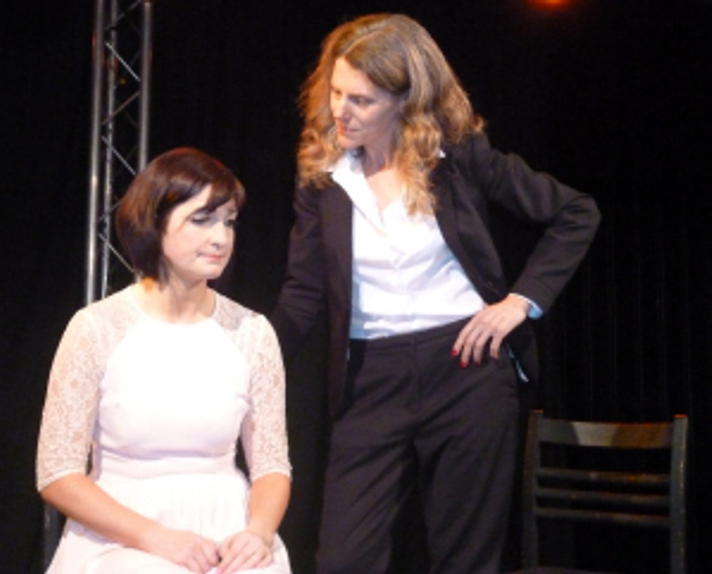 Amy Flight & Amanda Croft in On The Horizon by Adam Hughes