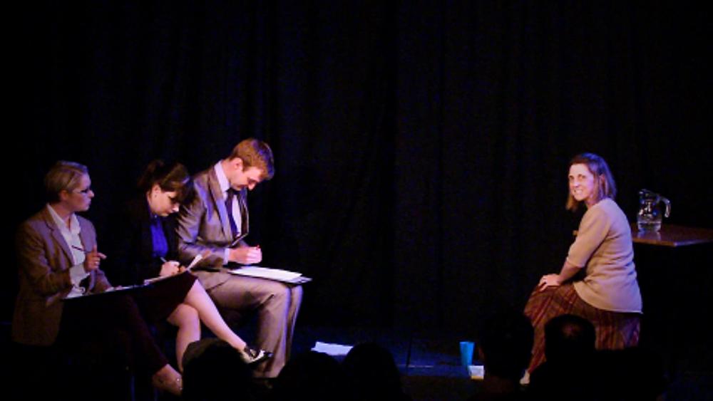 Rachael Olivant, Ian Curran, Miranda Dawe and Colleen Daley in Grit by Sarah Davies