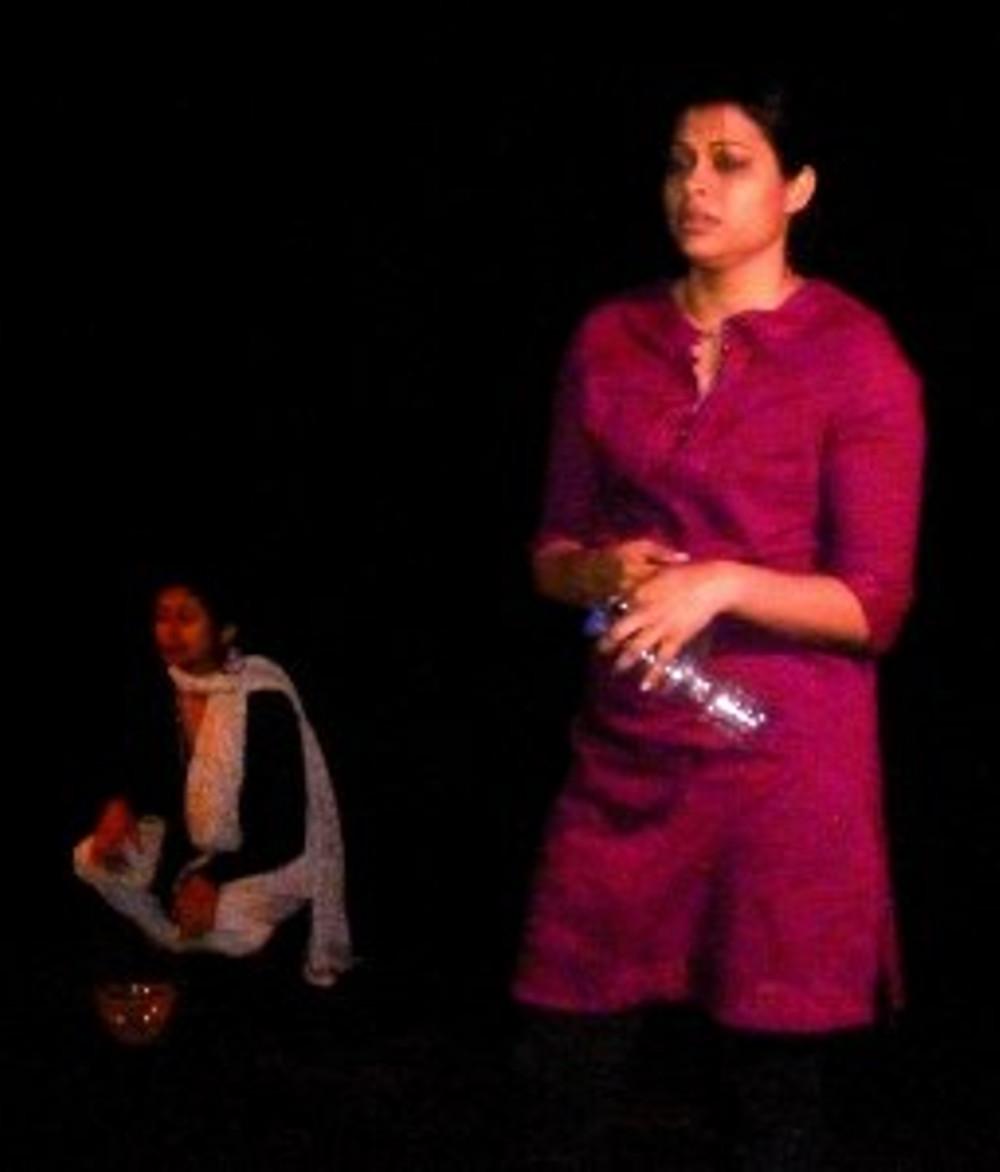 Radhika Aggarwal & Ariane Barnes in The Hidden Room by Patricia Reynoso