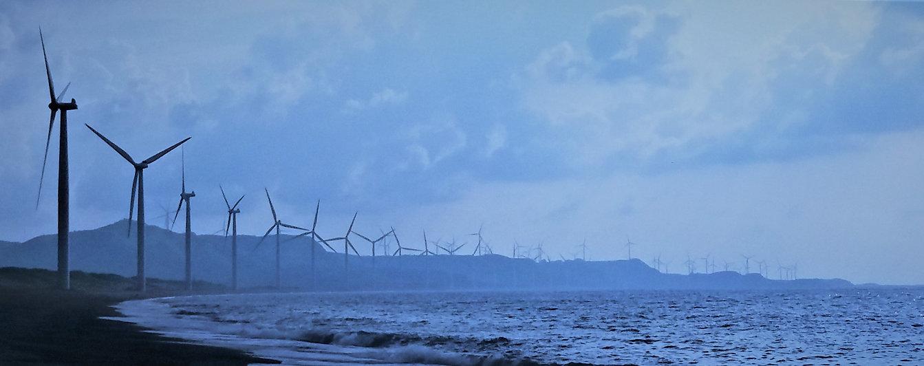 Wind power farm, Ilocos Norte, Philippines