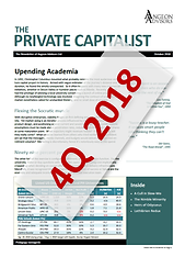 Angeon Advisors: The Private Capitalist, October 2018