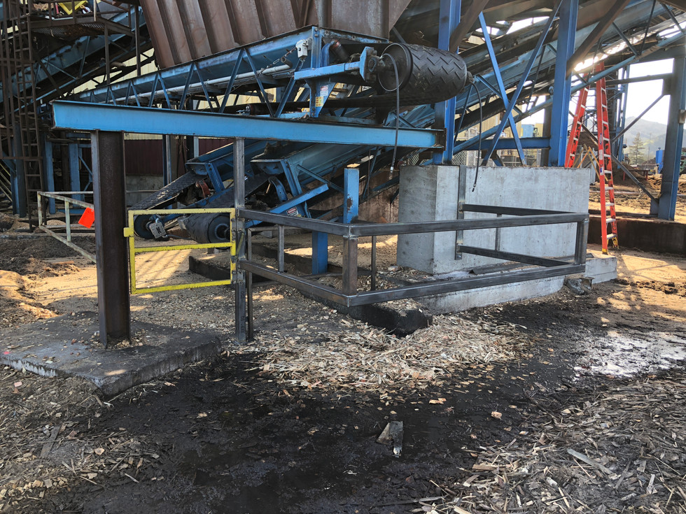 Custom Safety Barrier Railing