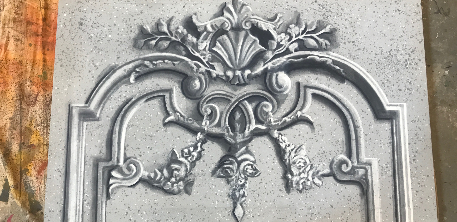 Stone Carving - Scenic Painting Project