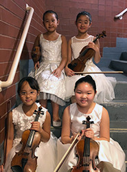 1st Runner Up: Four Violins - Violin