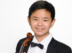 2nd Runner Up: Eric Chen, violin