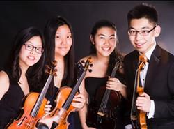 1st Runner Up: Echo Strings, violin quartet