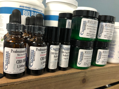 Gloyeske Naturals CBD Oil in Stock!