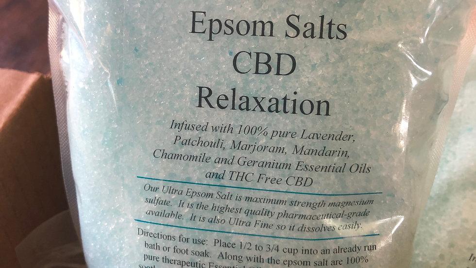 CBD Epsom Salt Relaxation Blend