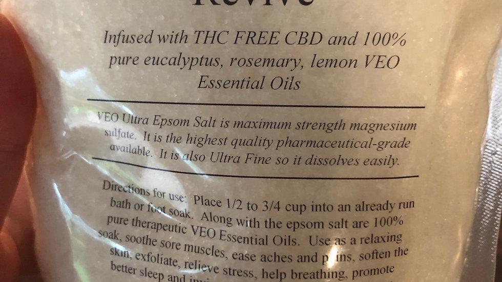 Energy & Revive CBD Epsom salts
