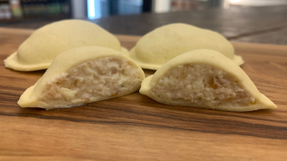 Caramelized Onion & Gruyere Ravioli