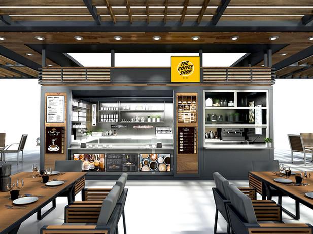 Mobile KTCHN Coffee Shop