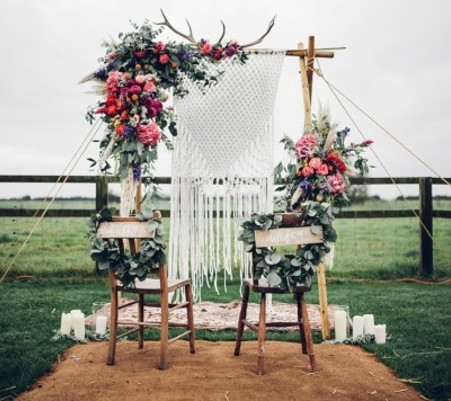 5 beautiful Ideas for a Boho Wedding