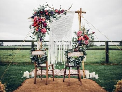 5 beautiful Ideas for a Boho Wedding
