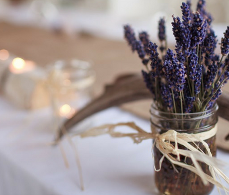 Lavender Country Wedding Inspiration for 2017