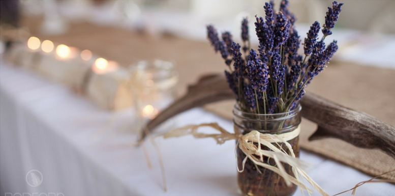 Lavender Rustic Vintage Wedding Decor