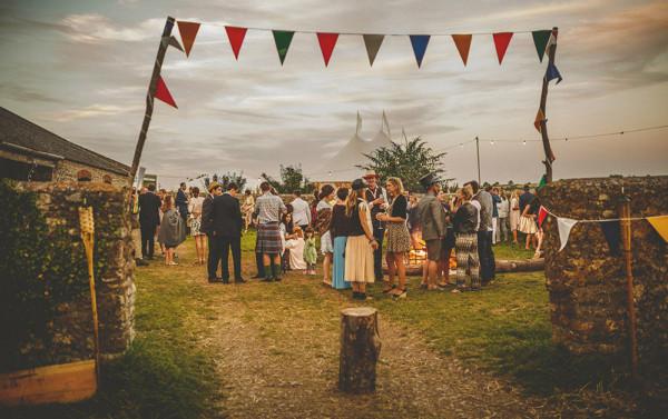 Festival Wedding Bunting Decor