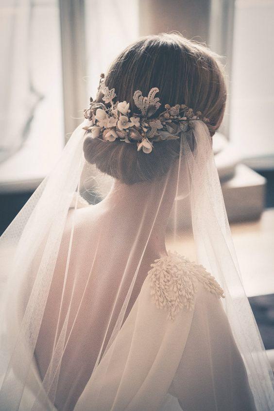 Vintage Festival Bridal Veil