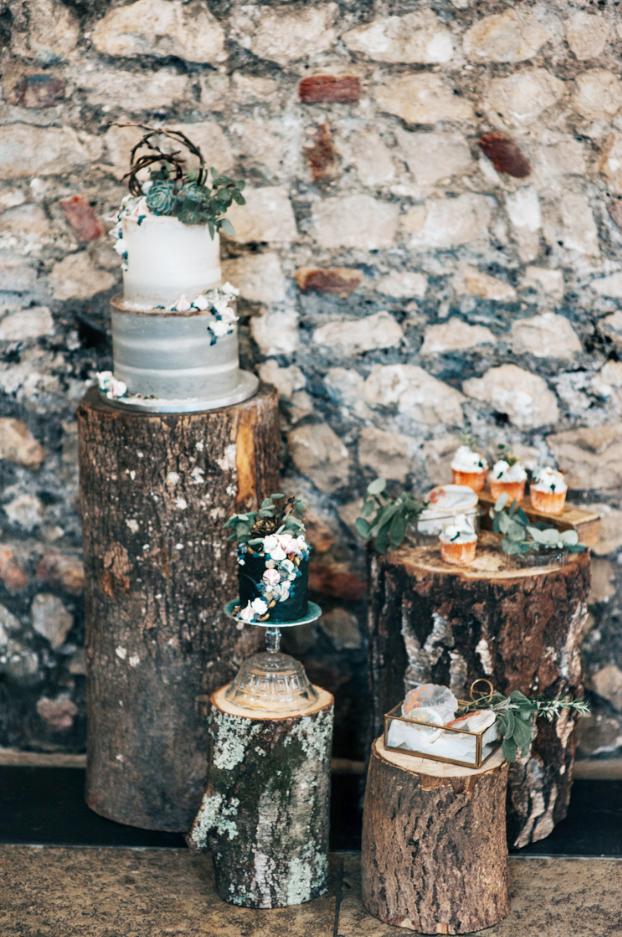 Mermaid Boho Wedding Cake