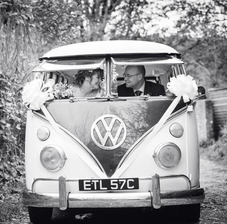 Wedding Campervan Transport Vintage