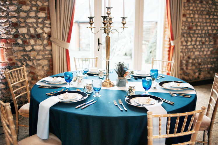 Mermaid Wedding Table Decor