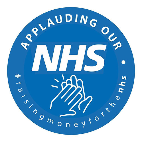 NHS Standard Sticker 100% Profit Donated to NHS