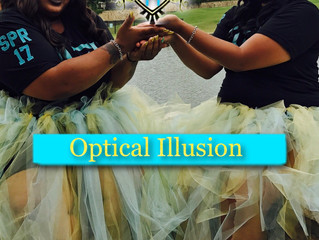 Welcome Home Optical illusion!