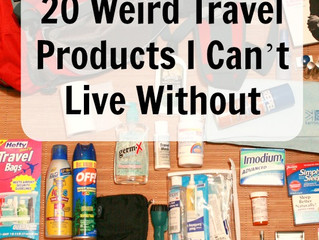 20 Weird Travel Products I Can't Live Without